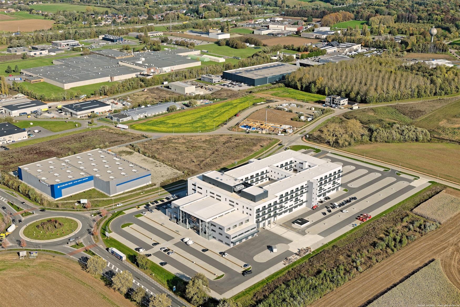 Bâtiment d'activités Actibel business center globalview 57