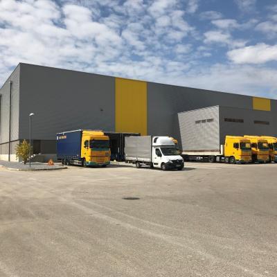 Entrepôt logistique Hauts de France De Rijke