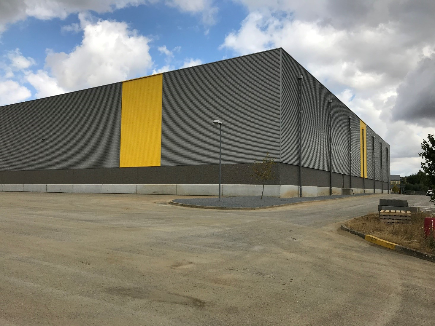 Construction entrepôt logistique Hauts de France De Rijke