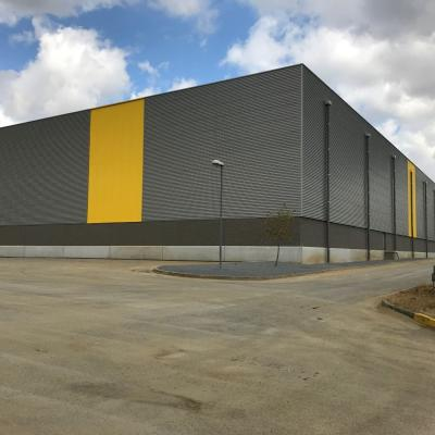 Constrcution entrepôt logistique Hauts de France De rijke2