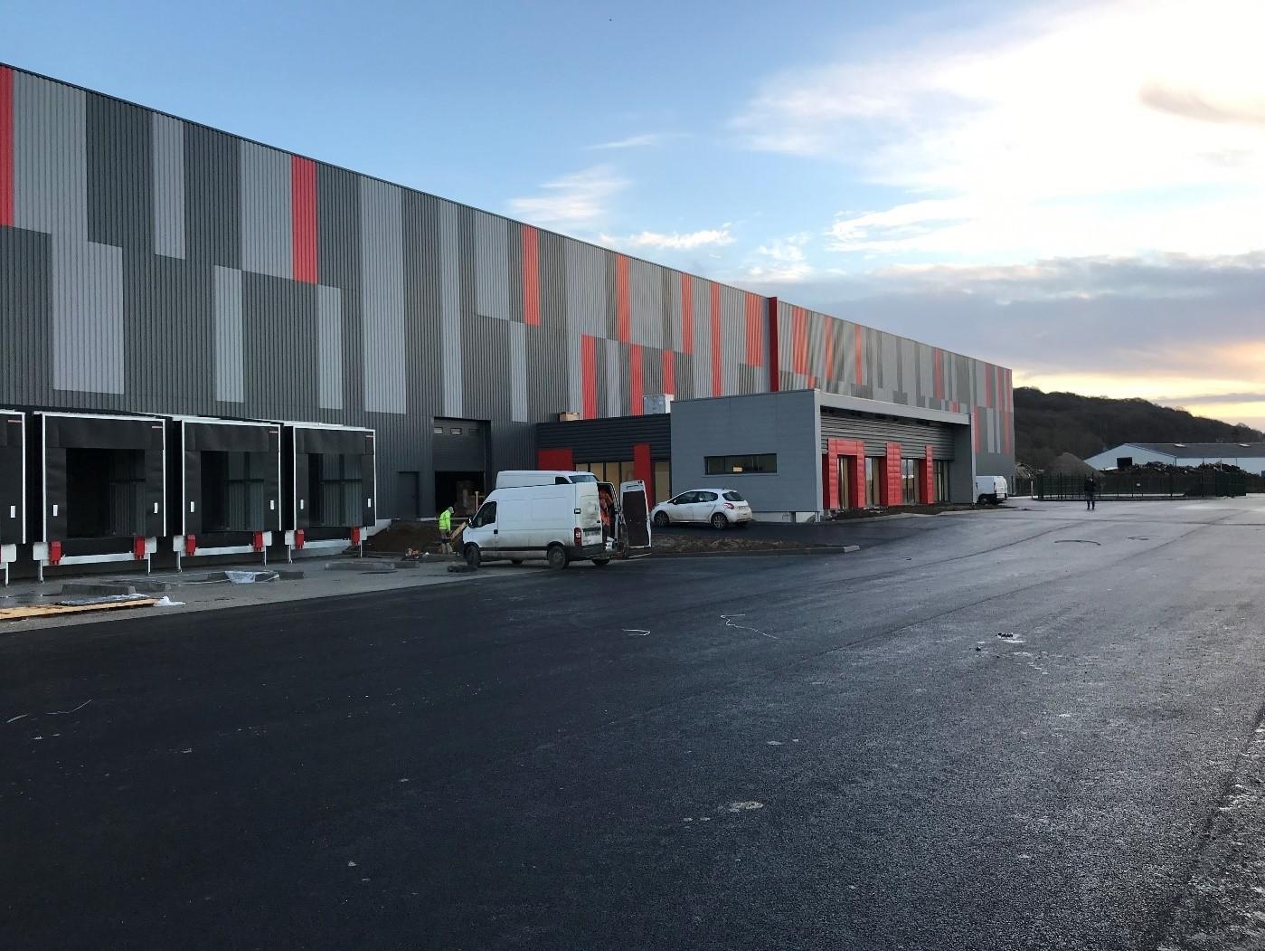 Entrepôt de stockage Gca1