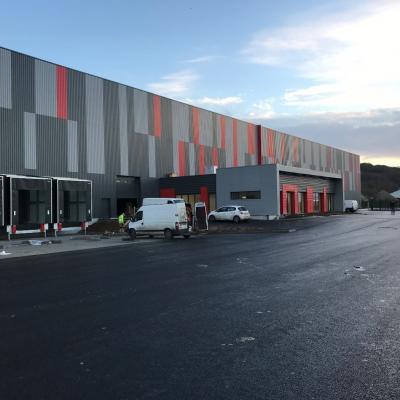 Construction entrepôt de stockage Seine Maritime GCA