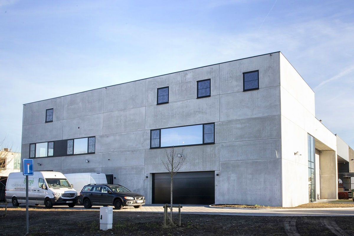 Construction bâtiment Industriel béton - K berge duffel