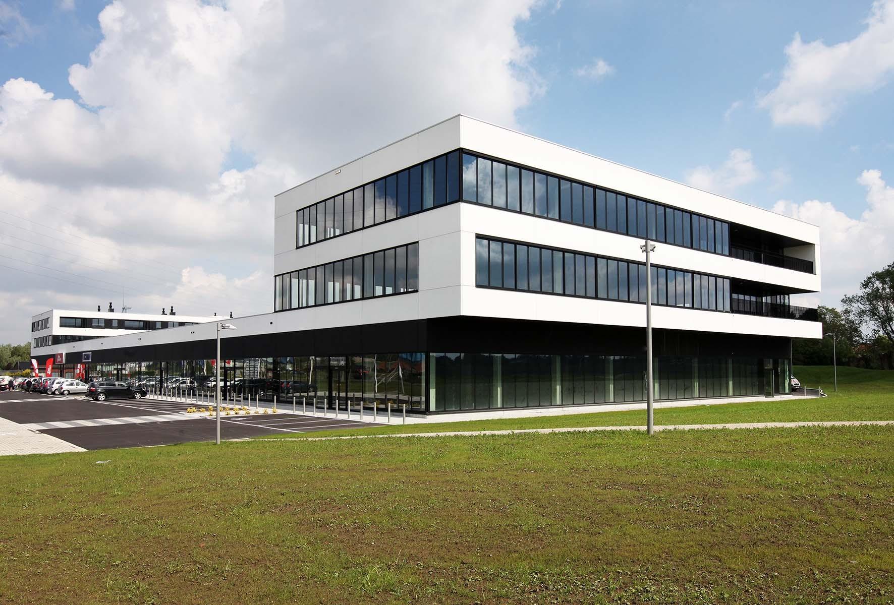 Construction préfabriqué bureaux K sobradis zwevegem04