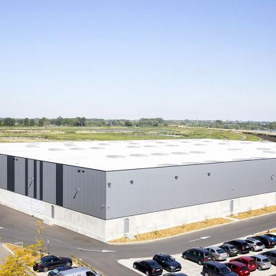 Construction bâtiment industriel Kvan vaeck zennith immo mechelen