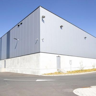 Bâtiment industriel- Construction mixte acier-béton n Kvan vaeck zennith immo mechelen