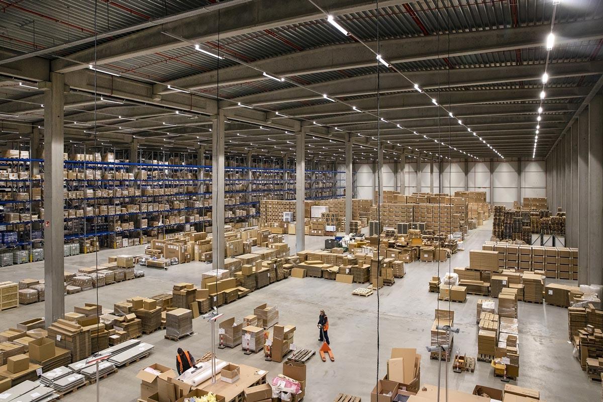 Construction de bâtiment logistique Hauts de France