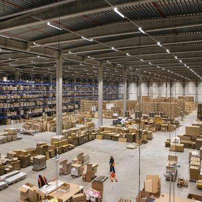 Construction de plateforme logistique Hauts de France K wdp mainfreight evergem