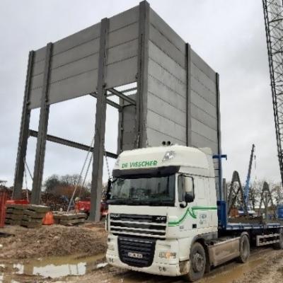 Bâtiment industriel béton Linex